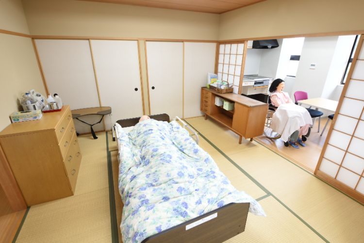 地域在宅看護実習室②